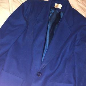 Blue blazer !